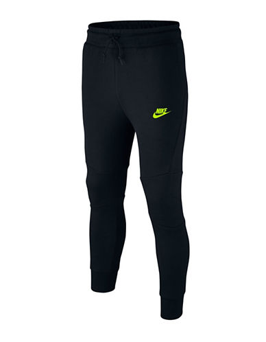 Nike Tech Cuffed Logo Pants-BLACK-6-8 88566972_BLACK_6-8