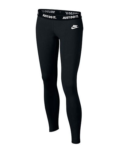 Nike Trainer Leg-A-See Tights-BLACK-Medium 88497273_BLACK_Medium