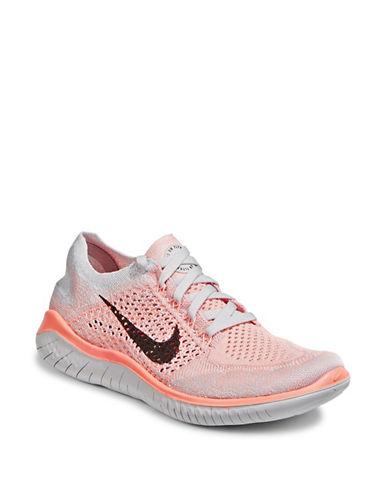 Nike Free Run Flyknit Sneaker-PEACH-9.5 89978772_PEACH_9.5