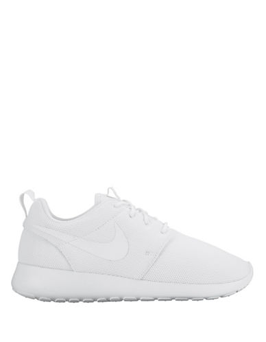 Nike Womens Roshe One Sneakers-WHITE-9.5