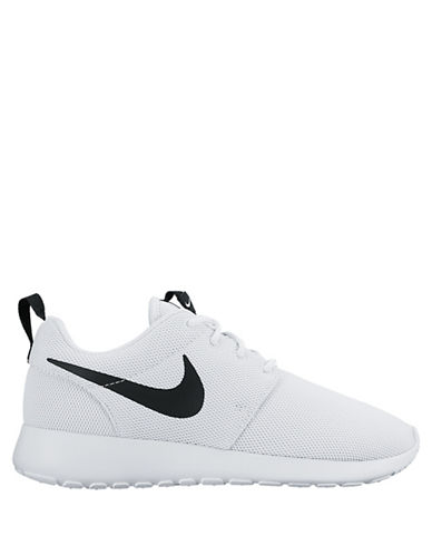 Nike Womens Roshe Sneakers-WHITE-5