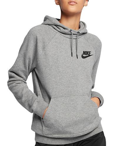 Nike Sportswear Rally Fleece Hoodie-GREY-X-Large 89687392_GREY_X-Large