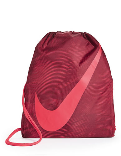 Nike Kids Logo Gym Sack-PINK-One Size