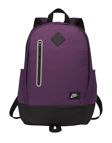 Nike Cheyenne Solid Backpack-PURPLE-One Size