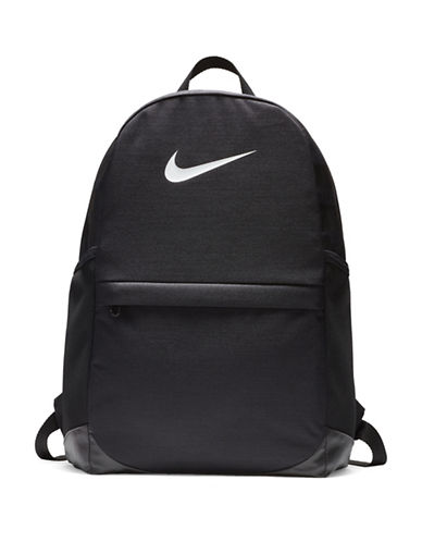 Nike Kids Brasilia Backpack-GREY-One Size