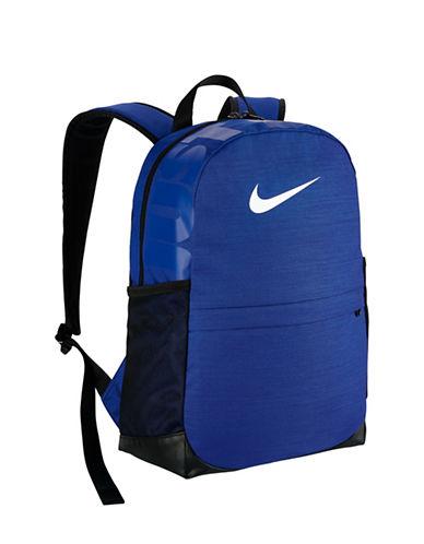 Nike Kids Brasilia Backpack-BLUE-One Size