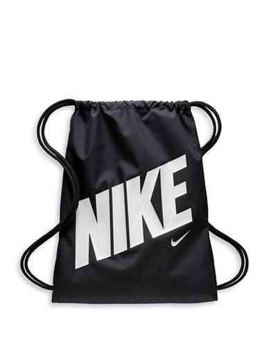 Nike Kids Logo Gym Sack-GREY-One Size