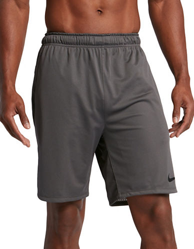 Nike Dry Training Shorts-GREY-X-Large