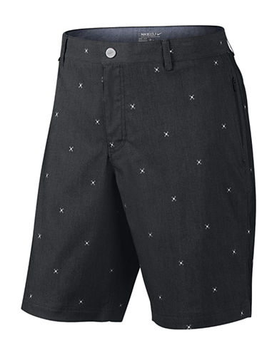 Nike Golf Printed Dri-FIT Twill Shorts-ANTHRACITE-40 88337004_ANTHRACITE_40