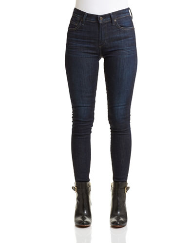 Citizens Of Humanity High-Rise Skinny Jeans-BLUE-32