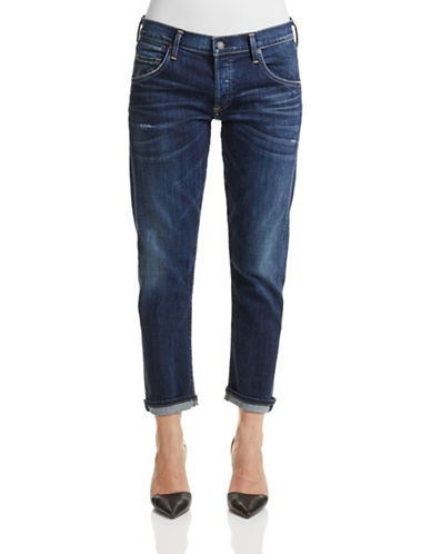 Citizens Of Humanity Emerson Slim Fit Boyfriend Jeans-BLUE-28