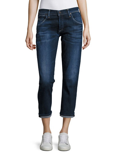 Citizens Of Humanity Emmerson Slim-Fit Boyfriend Jeans-BLUE-28