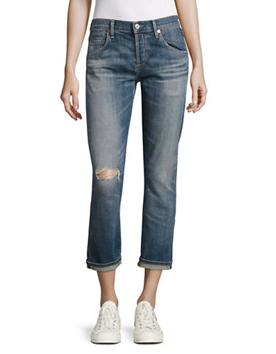 Citizens Of Humanity Roseland Emerson Slim Fit Boyfriend Jeans-BLUE-28