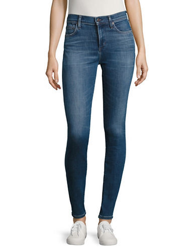 Citizens Of Humanity Voodoo Rocket High Rise Skinny Jeans-BLUE-28