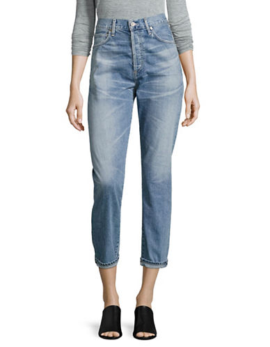 Citizens Of Humanity Liya Classic Fit Crop Jeans-BLUE-27