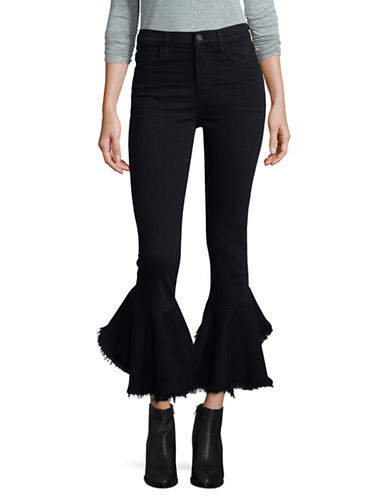 Citizens Of Humanity Drew Flounce Jeans-BLACK-28