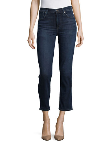 Citizens Of Humanity Cara Mariso Cigarette Ankle Jeans-BLUE-31