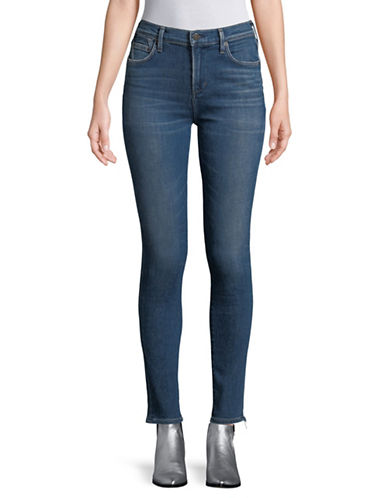 Citizens Of Humanity Rocket Skinny Jeans-BLUE-28