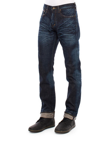Prps Six-Month Wash Demon-Selvedge Jeans-INDIGO-38X34
