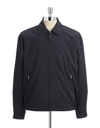 London Fog Microfibre Golf Jacket-NAVY-Medium