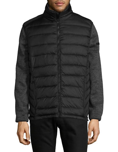London Fog 3-in-1 System Jacket-BLACK-Small