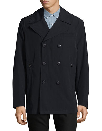 London Fog All-Weather Peacoat-NAVY-Medium