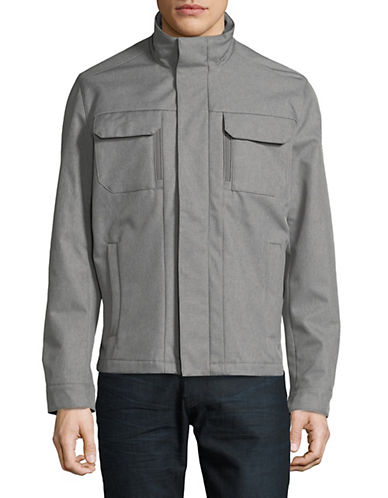 Michael Michael Kors Soft Shell Jacket-GREY-Large 89968064_GREY_Large