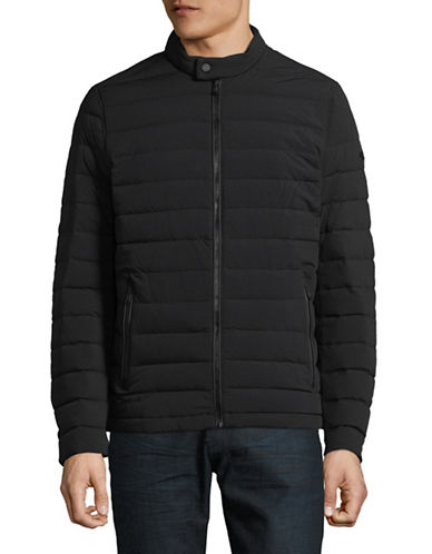 Michael Michael Kors Quilted Down Jacket-BLACK-Small 89968024_BLACK_Small