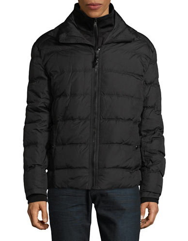 Michael Michael Kors High Density Jacket-BLACK-XX-Large