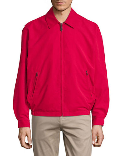 London Fog Auburn Full-Zip Jacket-RED-Medium 89752862_RED_Medium