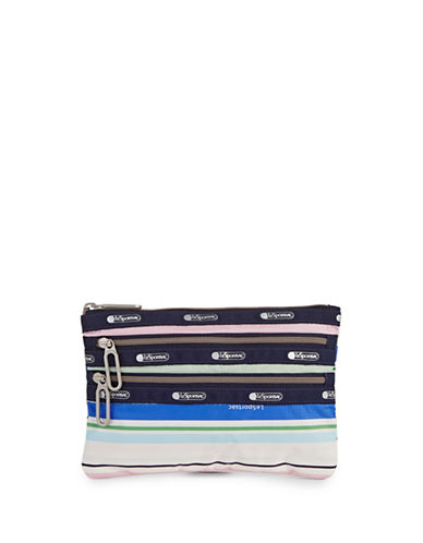Lesportsac Classic Three-Zip Pouch-STRIPE-One Size