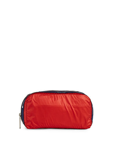 Lesportsac Essential Makeup Pouch-RED-One Size