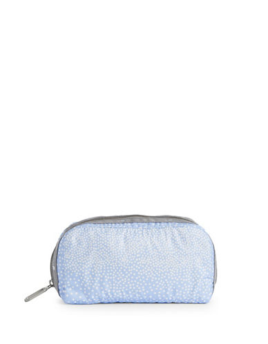 Lesportsac Essential Makeup Pouch-SPRINKLE BLUE-One Size