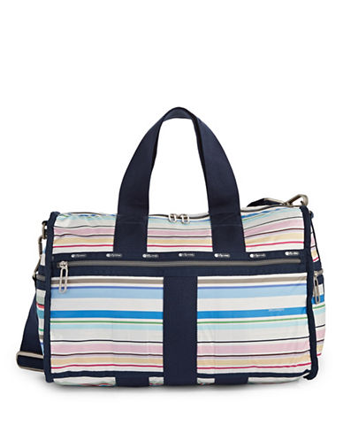 Lesportsac Weekender Duffle Bag-STRIPE-One Size