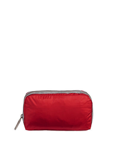 Lesportsac Essential Cosmetics Pouch-RED-One Size