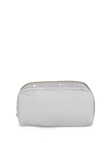 Lesportsac Essential Cosmetics Pouch-SILVER-One Size