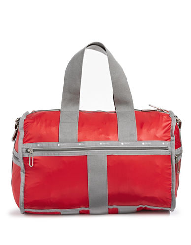 Lesportsac Weekender Duffle Bag-RED-One Size