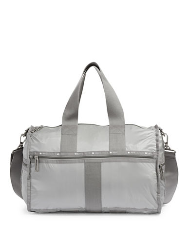 Lesportsac Weekender Duffle Bag-SILVER-One Size