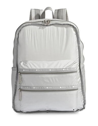 Lesportsac Functional Backpack-SILVER-One Size