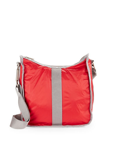 Lesportsac Weekender Hobo Bag-RED-One Size