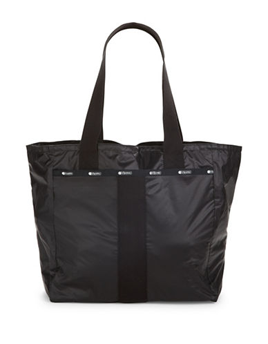 Lesportsac Printed Everyday Tote-BLACK-One Size