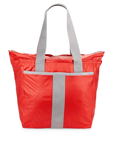 Lesportsac Printed Everyday Tote-RED-One Size