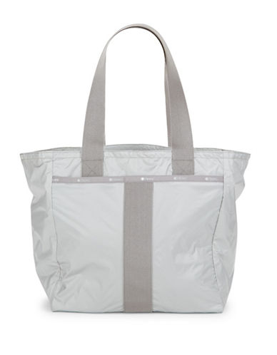 Lesportsac Printed Everyday Tote-GREY-One Size