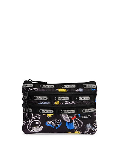 Lesportsac Illustrated Snoopy Cosmetics Bag-MISCELLANEOUS-One Size