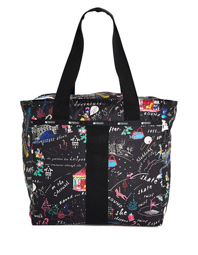 Lesportsac Everyday Tote Bag-BLACK MULTI-One Size