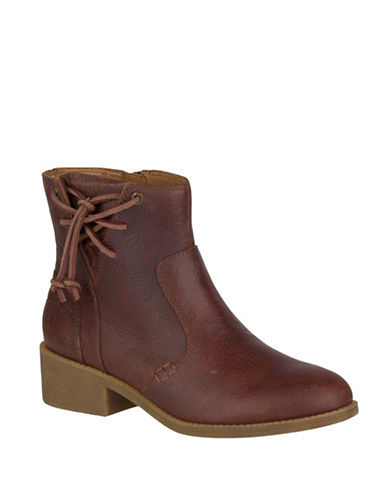 Sperry Juniper Glyn Leather Booties-RUST-7