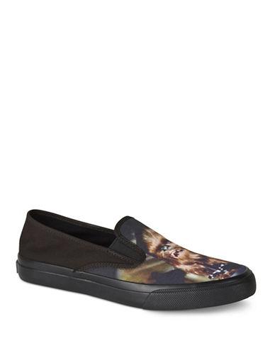 Sperry Cloud Star Wars Han Slip-On Sneakers-BLACK-9