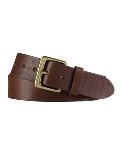 Lauren Ralph Lauren Casual Belt-BROWN-42