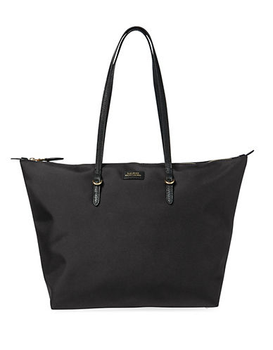 Lauren Ralph Lauren Medium Tote-BLACK-One Size 89856393_BLACK_One Size