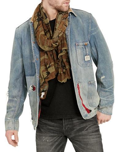 Denim & Supply Ralph Lauren Distressed Denim Chore Jacket-BLUE-Small 88508516_BLUE_Small